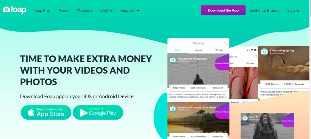 Earn Money By capturing beautiful photos and Videos