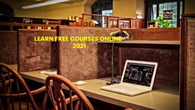 Learn Free Courses Online 2021