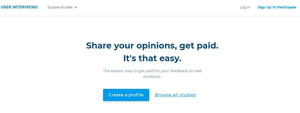 Share Your Opinion and get paid upto 250$ Check it out