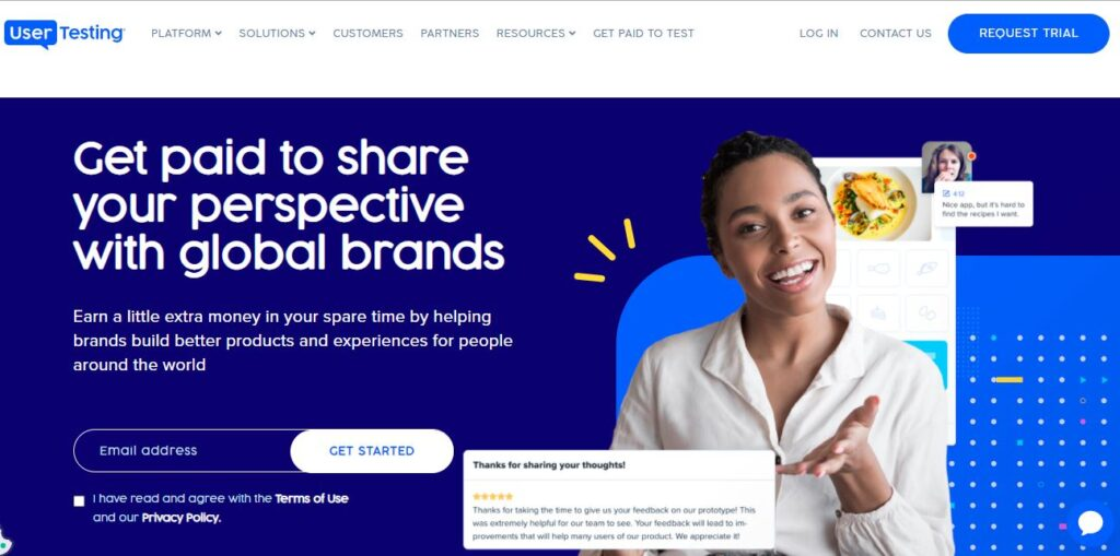 Get Paid to Share your perspective with Global brands   Earn a little extra money in your spare time by helping brands build better products and experiences for people around the world