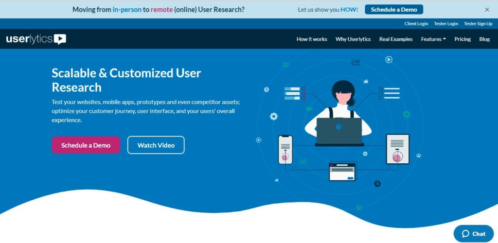 Userlytics - Get Paid for